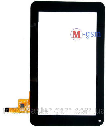 """Тачскрин (сенсорный экран) 7"""" Pixus Play One (p/n: 300-N3803B-C00-V1.0) черный"""