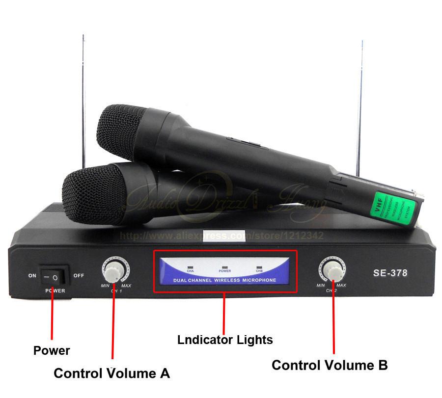"""Комплект беспроводных микрофонов Shure SH-378 - Интернет-Магазин """"Lita-Shop"""" в Одессе"""