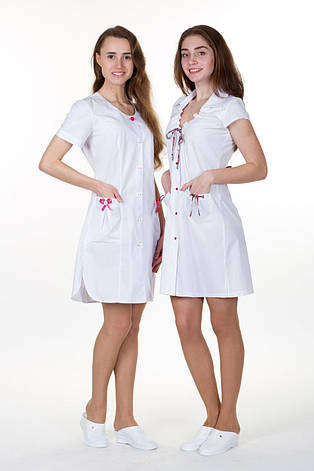 Женский медицинский халат Фламинго, фото 2