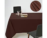 Скатерть Dralon с тефлоновым водоотталкивающим покрытием, цвет Шоколад
