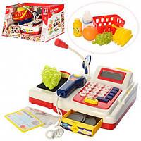 Кассовый аппарат 3220, калькулятор, сканер, продукты, корзинка, монеты, звук