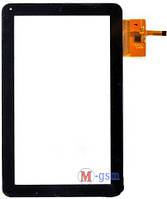 Тачскрин (сенсорный экран) Assistant AP-110 (p/n: E-C10052-01, DPT 300-N3765C-A00) черный