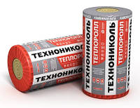 ТЕПЛОРОЛЛ 100 мм, 30 кг/м3, 4кв.м базальтовый утеплитель Технониколь