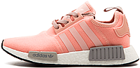 Женские кроссовки Adidas NMD R1 Pink/Grey