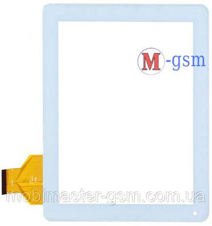 Тачскрин (сенсорный экран) (p/n: QSD E-C97001-01) белый