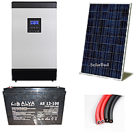 Автономна сонячна електростанція 1,5 кВт (від 180 до 234 кВт/місяць)