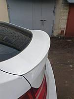 Cпойлер на крышку (сабля, утиный хвостик, лип спойлер) багажника BMW X6 E71 2008-2014 г.в. M-style