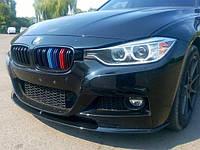 Накладка на передний М-бампер BMW 3 series F30