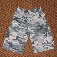Классные модные шорты милитари на мальчика 4-5 лет