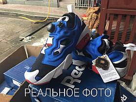"Кроссовки Reebok Insta Pump Fury OG ""Blue/Black/White/Red"", фото 3"