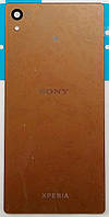 Задняя панель корпуса для мобильных телефонов Sony E6533 Xperia Z3+ DS, E6553 Xperia Z3+, Xperia Z4, золотиста