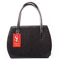 Модельная лаковая сумочка в застывших каплях