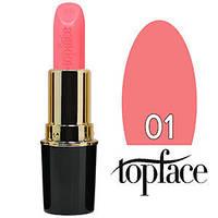 TopFace Губная помада  Matte Lipstick Тон №01 creamy rose, матовая