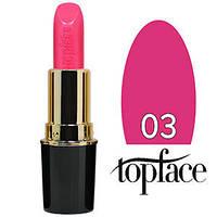 TopFace Губная помада  Matte Lipstick Тон №03 pink lilac, матовая