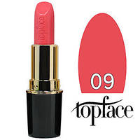 TopFace Губная помада  Matte Lipstick Тон №09 pink rose, матовая