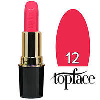 TopFace Губная помада  Matte Lipstick Тон №12 bright pink, матовая