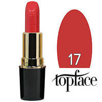 TopFace Губная помада  Matte Lipstick Тон №17 creamy red rose, матовая