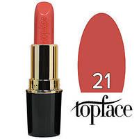 TopFace Губная помада  Matte Lipstick Тон №21 caramel natural, матовая