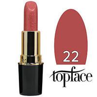 TopFace Губная помада Matte Lipstick Тон №22 dusty pink natural, матовая