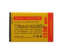 Аккумулятор Avalanche P LG P970 (1550mAh)