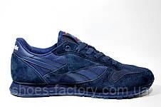 Мужские кроссовки Reebok Classiс Leather, Blue, фото 3
