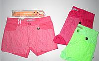 Котоновые шорты для девочек Grace.В комплекте с ремнем