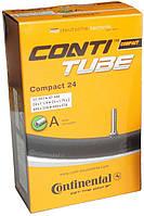 "Камера Continental Compact 24"" 24x1 1/4 - 24x1.75x2 (32/47x507/544) Schrader 34мм"