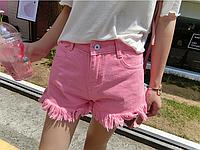 Шорты джинсовые W13