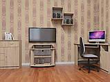 Угловой компьютерный стол СУ-1 для дома и офиса, стандартный, фото 2