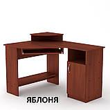 Угловой компьютерный стол СУ-1 для дома и офиса, стандартный, фото 5