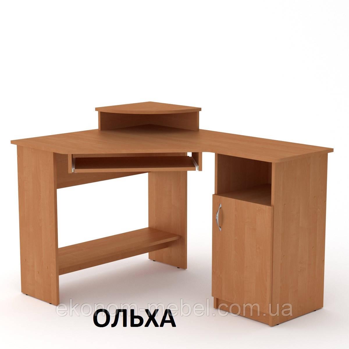 Угловой компьютерный стол СУ-1 для дома и офиса, стандартный
