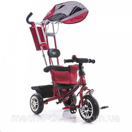 Детский трехколесный велосипед Azimut Lexus Trike BC-15B красный, фото 2