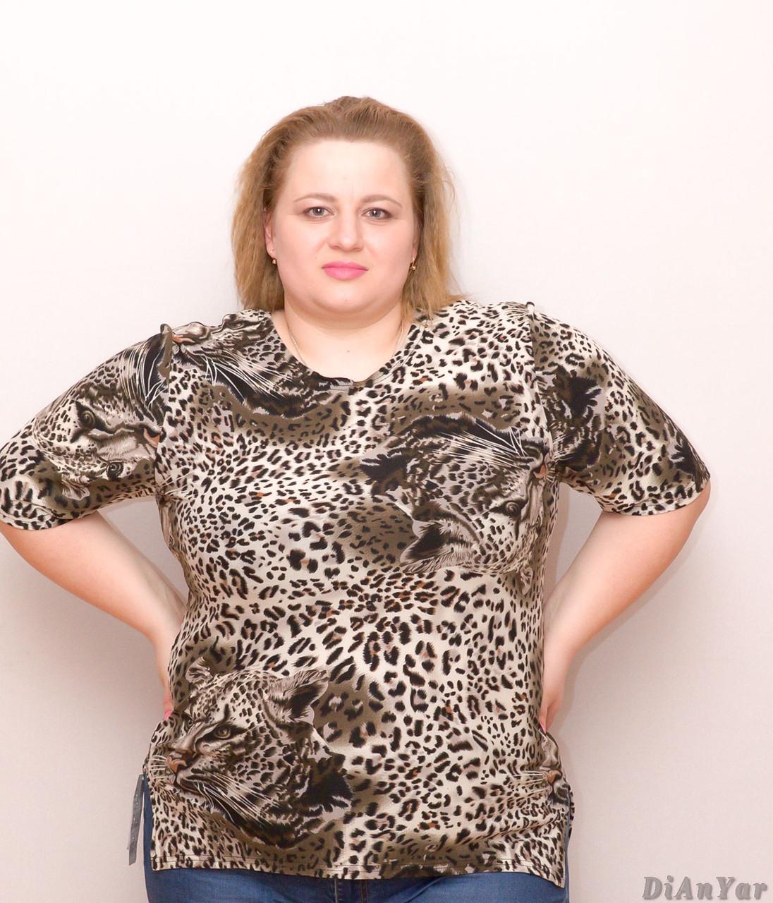 Блузка женская  батальная YONG