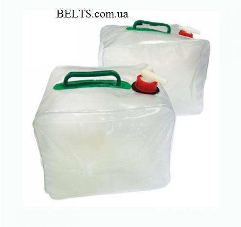 Удобная складная канистра для воды на 10 литров