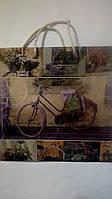 Пакет подарочный бумажный крафт квадрат 23х24х10 (24-014)