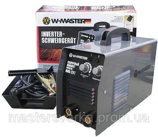 Сварочный инверторный аппарат WМастер MMA 291