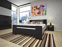 Двуспальная кровать  из дерева Изабелла-1