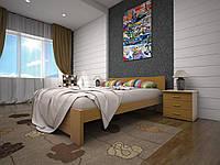 Двуспальная кровать  из дерева Изабелла-3