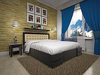 Двуспальная кровать  из дерева Кармен