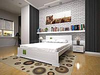 Двуспальная кровать  из дерева Элегант-3