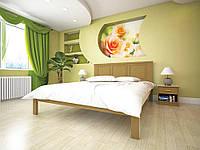 Двухспальная кровать  из дерева Модерн-15