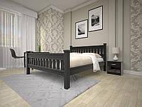 Двухспальная кровать для спальни  из дерева Модерн-13