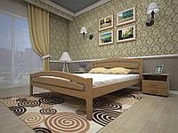 Кровать двухспальная из дерева сосна Модерн-2