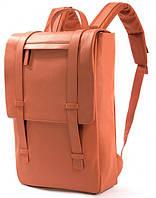 "Кожаный рюкзак для ноутбука на 8л. Tucano TEMA BACKPACK MBPRO NETBOOK 15.6"" BKTE15-O, оранжевый"