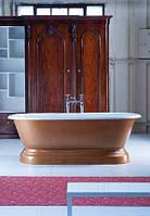Классическая чугунная ванна на пьедестале в ретро стиле CHAUMONT