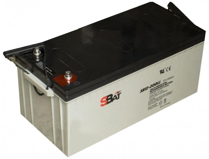 Гелевый аккумулятор STRABAT 12V 200 Ah