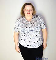 Блузка женская  батальная WATER