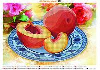 """""""Персики"""" Схема для вышивки бисером"""