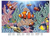 """""""Рыбки"""" Схема для вышивки бисером"""