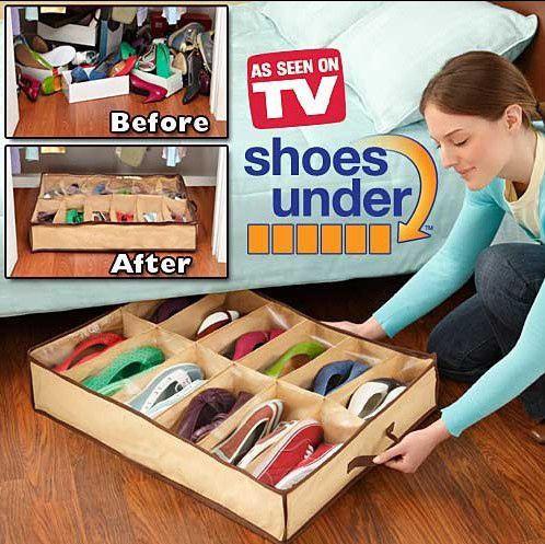 """Компактный органайзер для хранения обуви Shoues under server  - Интернет-Магазин """"Lita-Shop"""" в Одессе"""